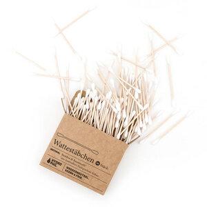 Wattestäbchen aus Bambus & Baumwolle - HYDROPHIL