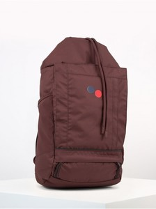 Rucksack Blok Medium - Maple Maroon - pinqponq