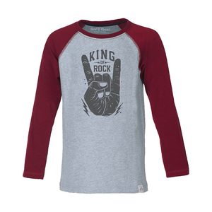 Longsleeve King of Rock - Band of Rascals