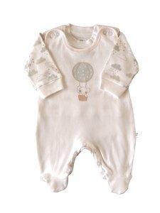 Baby Stramplerset weiß Bio EBi & EBi - EBi & EBi