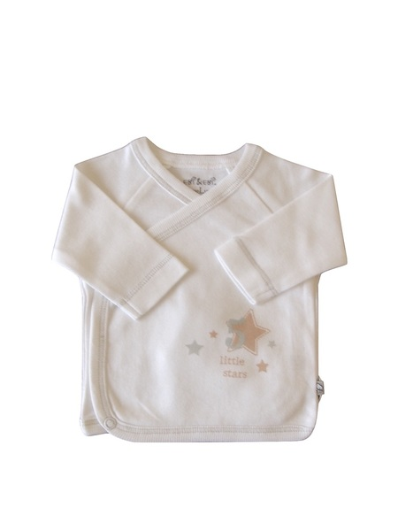 Baby Wickelhemd Weiß Bio Baumwolle Ebi & Ebi