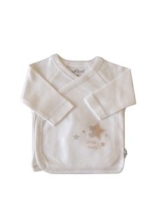 Baby Wickelhemd weiß  Bio Baumwolle EBi & EBi - EBi & EBi