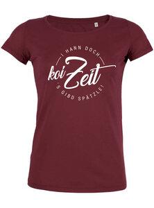 koi Zeit - T-Shirt Damen - What about Tee