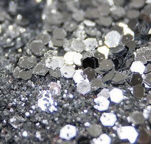 50 Shades of Silber - Biologisch abbaubarer Glitzer - Glitterkram