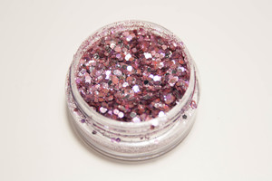 Flamingo Mix - Biologisch abbaubarer Glitzer - Glitterkram