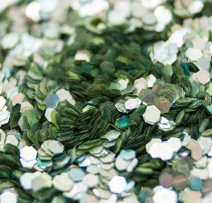 Limette - Biologisch abbaubarer Glitzer - Glitterkram