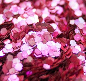 Kirsche - Biologisch abbaubarer Glitzer - Glitterkram