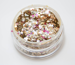 Purer Luxus - Biologisch abbaubarer Glitzer - Glitterkram