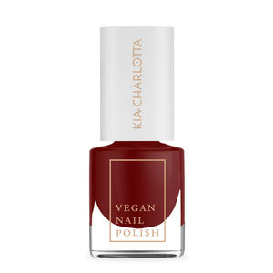 Veganer Nagellack › SUCCESSFUL ‹ Kirschrot - Kia-Charlotta