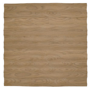 "Edles Wandpaneel aus Eiche ""Wall of Shine"" - 33 x 33 cm - Handarbeit - 4betterdays"