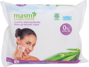 Bio Make -Up Reinigungstücher - Masmi Natural Cotton