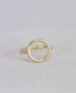 Vergoldeter Ring 'Miro' - pikfine
