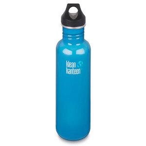 Edelstahl Trinkflasche Classic 800ml mit Loop Cap Channel Island - Klean Kanteen