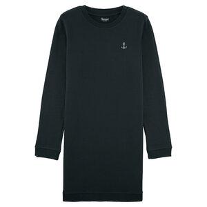 Sweatshirtkleid in verschiedenen Farben mit Anker-Stick Bio & Fair  - Hanseat