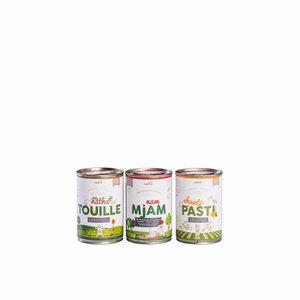 naftie Schnupperbox PEACE FOOD veganes Bio Hundefutter  - naftie