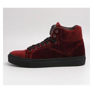 Sally Berry Velvet - Grand Step Shoes