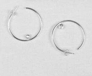 Pebble Hoops - Ohrringe - Wild Fawn Jewellery