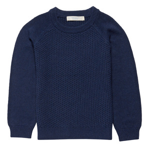 Strickpulli Piet Navy - Sense Organics & friends in cooperation with GARY MASH