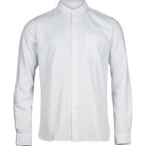 Twill Shirt Vegan Bright White - KnowledgeCotton Apparel