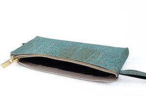 Multifunktionale Universaltasche aus Kork geeignet als Stiftemappe, Kosmetik- bzw. Make-Up-Tasche - Simaru