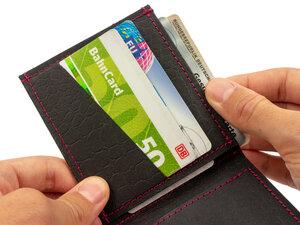 SIMARU® Slim Wallet mit Münzfach, vegan & nachhaltig - Simaru