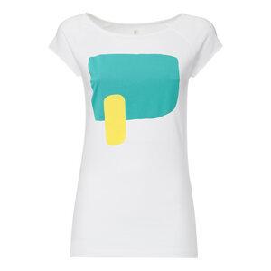 T-Shirt Weiß Bio & Fair // TT01 Damen // Stones - THOKKTHOKK