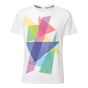 T-Shirt Weiß Bio & Fair // TT02 Herren // Shaded - THOKKTHOKK