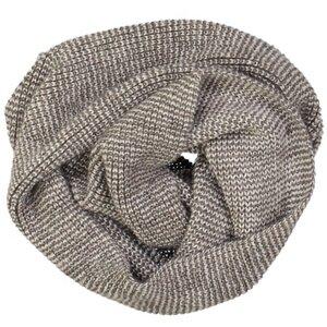 Damen Schal - Alpaka Wolle - Brown/Beige - Les Racines Du Ciel