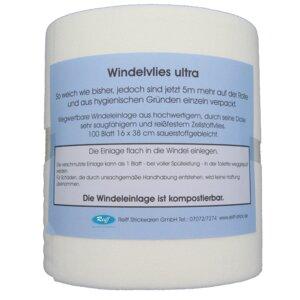 Windelvlies Ultra reißfest und kompostierbar - Reiff