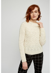 Strickpullover Nuala Jumper - Cream - People Tree