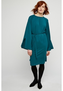 Kleid - Vella Dress - Turquoise - People Tree