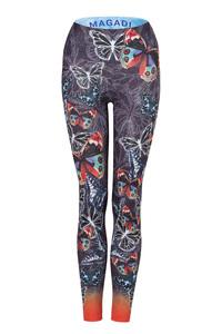Damen Yoga Leggings Butterfly - Magadi
