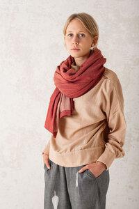 Schal Somila Brombeer - Jyoti - Fair Works