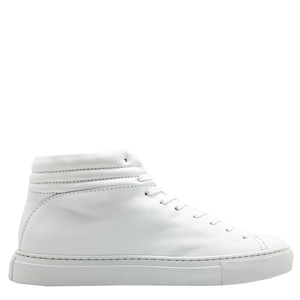 "hoher Sneaker aus Leder ""nat-2 Sleek all white"" in weiß - nat-2"