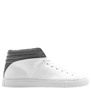 "hoher Sneaker aus Leder ""nat-2 Sleek white reflective"" in weiß - nat-2"