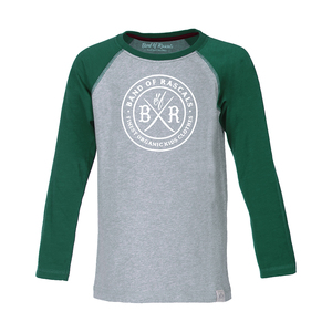 Longsleeve Circle Raglan - Band of Rascals