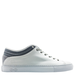 "Sneaker aus Leder ""nat-2 Sleek Low all grey"" in grau - nat-2"