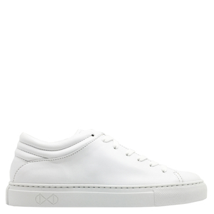 "Sneaker aus Leder ""nat-2 Sleek Low all white"" in weiß - nat-2"