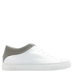 "Sneaker aus Leder ""nat-2 Sleek Low white reflective"" in weiß  - nat-2"