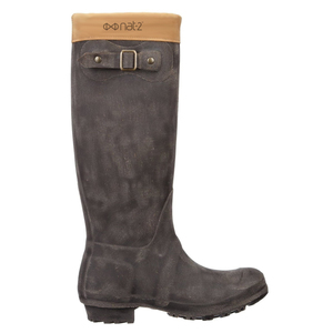 "Gummistiefel ""nat-2 Prime Hunt greybrown""  in braun - nat-2"