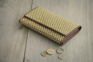 Großes Portemonnaie- Vegan, Bambus- Lange Brieftasche aus Bambusfasern - BY COPALA