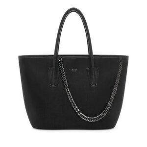 ' Daria ' Schwarz Shopper-Taschen Tote - LaBante London
