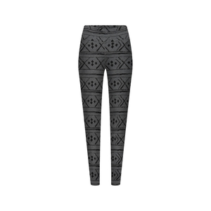 Norwegian Leggins Damen Grau - bleed