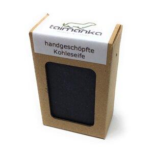 taimanka handgeschöpfte Kohleseife - natürlich - ohne Palmöl - taimanka