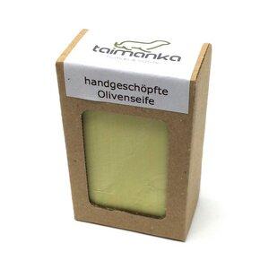 taimanka handgeschöpfte Olivenseife - natürlich - ohne Palmöl - taimanka
