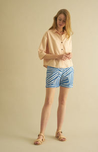Print Shorts VICTORIA stripes - CUS