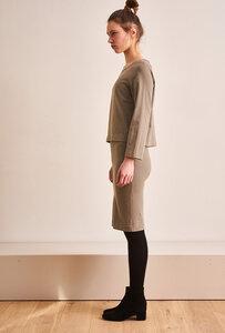 Khakifarbenes Kleid TWOdress - CUS