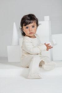 Baby Schlafanzug mit Füßen - Babybugz