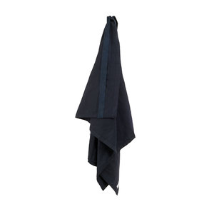 Handtuch - Wellness Towel - Dark Blue - The Organic Company
