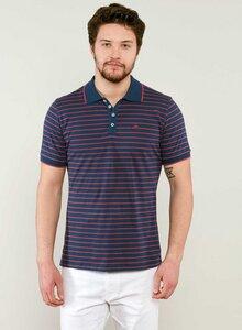 Gestreiftes Poloshirt aus Bio Baumwolle - ORGANICATION